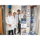 Three biotech students excited to showcase the biotech program through CTE. (Aspen Perry/City Journal)