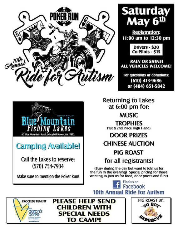 10th 20annual 20ride 20for 20autism 20flyer
