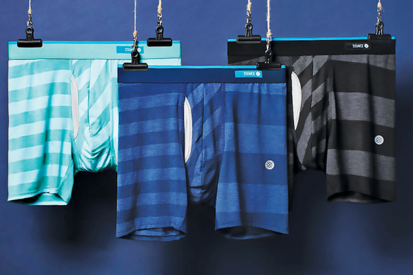 Stance also has a new line of underwear.