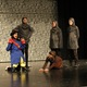 """Lord Farquad (Dillan Campbell) feigns interest in the gingerbread woman's problem in """"Shrek the Musical Jr."""" at Hunter Jr. High. (Travis Barton/City Journals)"""