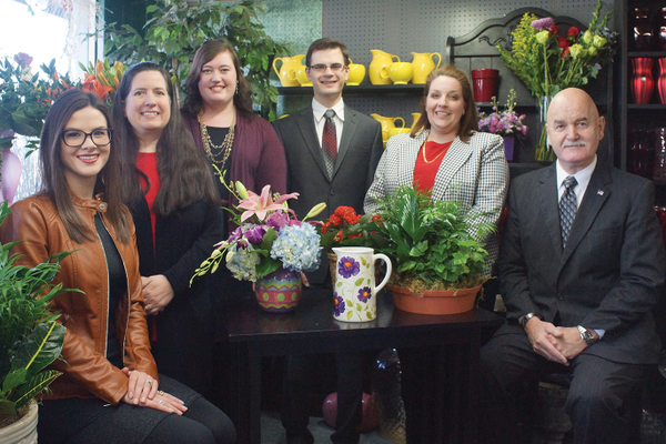 Advance Sourcing staff Colleen Schell, Diana Sukitsch, Elizabeth Grant, Nick Dorfner, Darci Faiello and Ray Luppe.