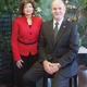 Judith Bernhard and Veteran Liaison Ray Luppe
