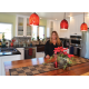 Juli Kahanamoku is loving her new kitchen.