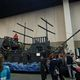 Children hop about a pirate ship playground, ready to take on the seven seas.(Keyra Kristoffersen/City Journals)