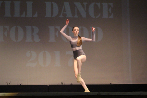 More than 150 solo, duo and trio dance routines were performed at the Will Dance For Food Competition at Taylorsville HiIgh School on March 3. (Tori La Rue/City Journals)