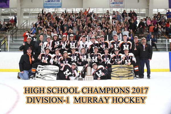 The Murray High School hockey club team claimed the 2017 state championship, with a 6-4 win over Park City in the title game. (Shutterspeed)