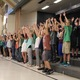 The sixth grade performs a musical number at Highland Park Elementary on the school's annual Arts Night. (Travis Barton/City Journals)