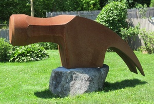 Medium w. 20josiah 20glover hammer corten 20steel 50 20x 20106 20x 2024 20in  16 400 20  20copy
