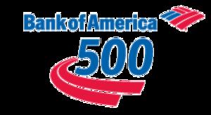 Bank of America 500 - start Oct 07 2017 0700PM
