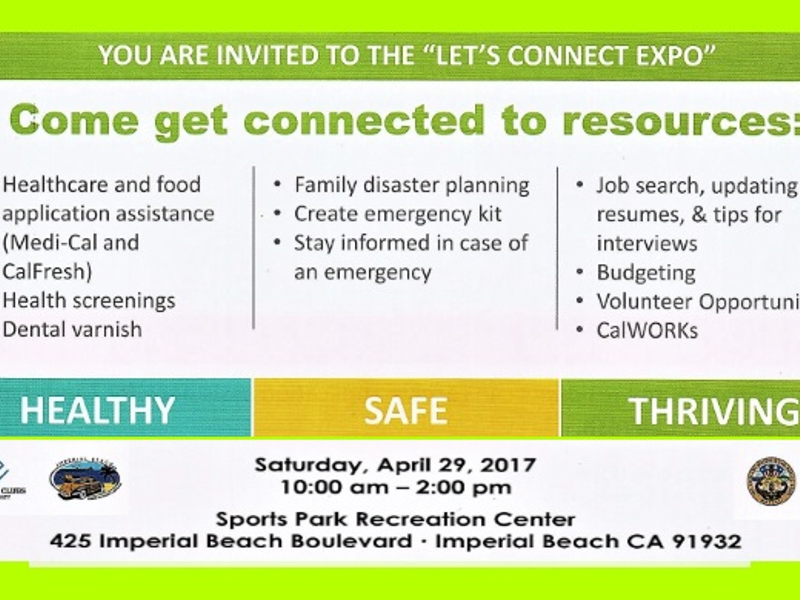 Imperial Beach Let S Connect Expo