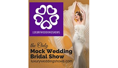 Luxury wedding shows event icon