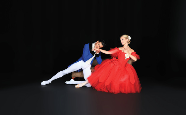 Victoria Hulland and Ricardo Graziano in Sir Frederick Ashtons Marguerite and Armand - photo Frank Atura