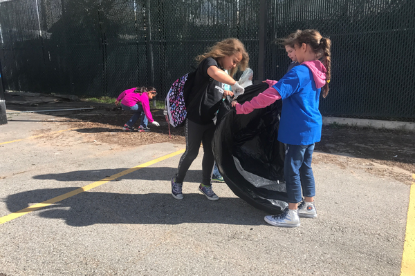 The students learned how to give back to their community by helping each other help their community around them. (Natalie Mollinet/City Journals).