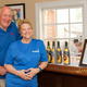 WineFest Founders/Organizers (and owners of the Old Brick Inn) George Wilson and Barbara Svenson