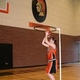 """Barry Hecker invented the """"Get it It up Up Shooting Hoop"""" to help teach basketball fundamentals.  (Barry Hecker)"""
