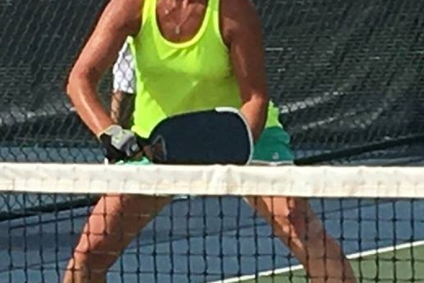 Lisa Parker fell in love with pickleball the first time she tried it. (Lisa Parker)