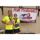 Trent Allsup and Lisa Parker are frequent pickleball tournament partners. (Lisa Parker)