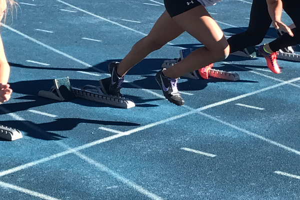 Sophomore Jasmine Lopez ran the 100-meter in 13.86 in a dual meet at Copper Hills, good enough for fourth place. (Greg James/City Journals)