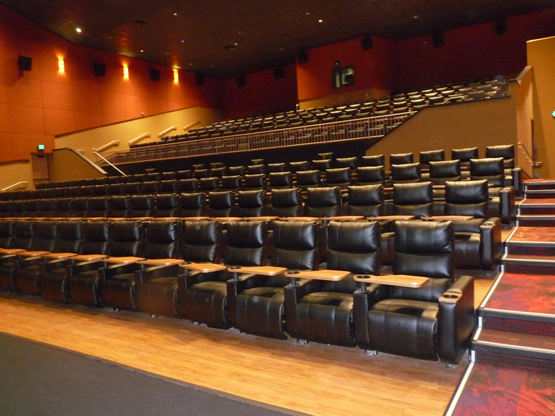 All 14 Regal Cinema auditoriums feature oversized recliner chairs with lap tables for food. ( & New Taylorsville theater opens to rave reviews | Taylorsville Journal islam-shia.org