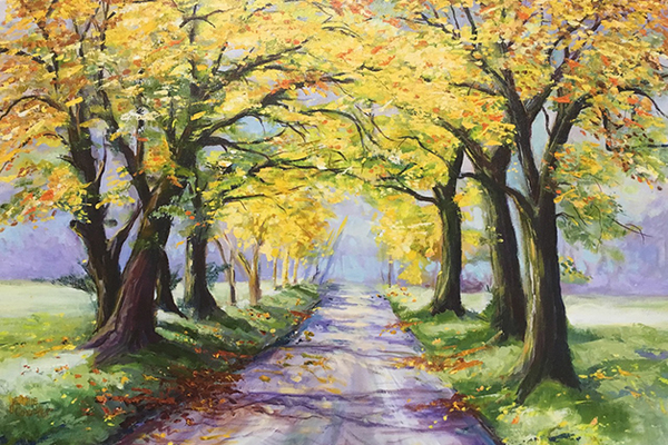 Road Less Traveled by Jeannie Courter