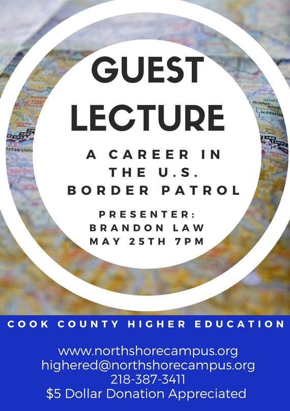 May 20guest 20lecture 20a 20career 20in 20the 20us 20border 20patrol 202017