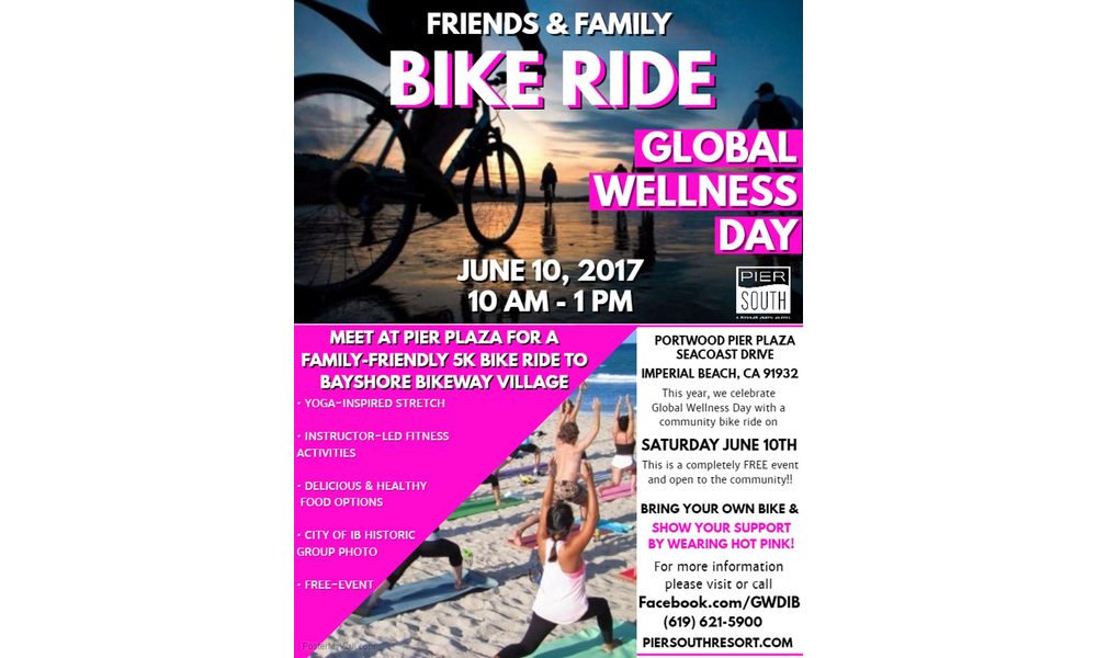 Global Wellness Day Friends   Family 5k Bike Ride Saturday June 10th  3  Images  Click Any Image To Expand 9baea0275776