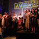 Cosplayers took the stage for the costume contest at the Viridian Event Center's Star Wars party. (Natalie Conforto/City Journals)