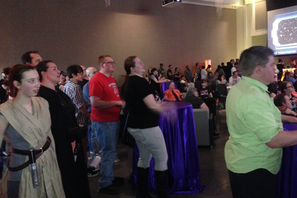 Over 450 attendees registered for the May the Fourth Be with You event at the Viridian Event Center.