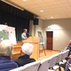 District 5 councilman Mark Stewart addresses residents during town hall. (Aspen Perry/City Journals)