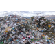Piles of rejected waste from recycling bins can be seen at Trans-Jordan Landfill. (Trans-Jordan Landfill)