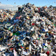 Piles of rejected waste from recycling bins can be seen at Trans-Jordan Landfill. (Trans-Jordan, Jason Turville).