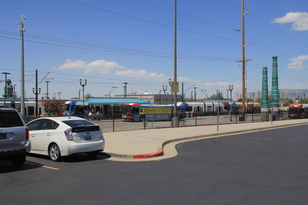 Murray City was awarded a Transportation and Land Use Connection (TLC) grant for continued development of the Murray Central TRAX and FrontRunner station. (Mandy Ditto/City Journals)