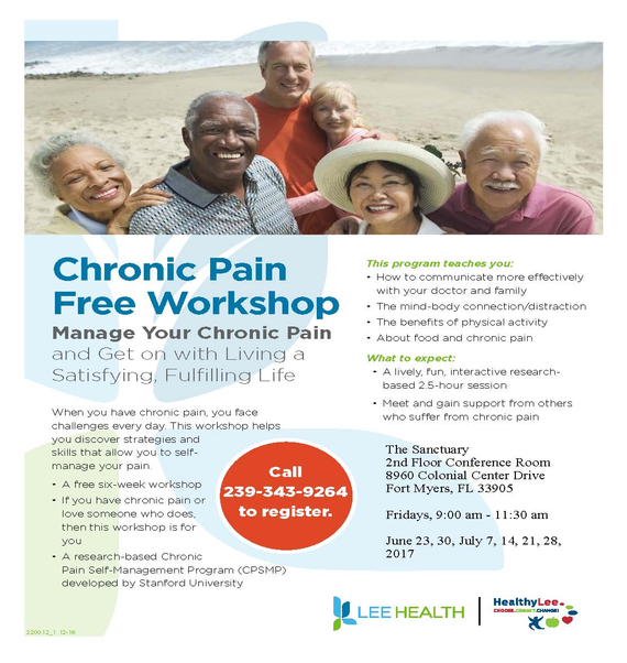 Thesanctuaryjunechronic pain workshop flyer interactive