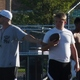 Murray High School football players began springtime outdoor workouts for next fall's team. (Carl Fauver/City Journals)