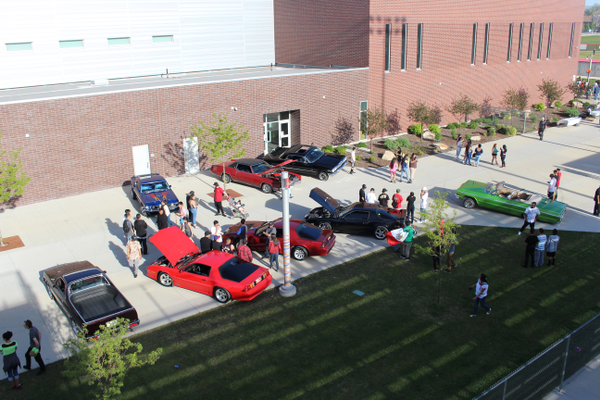 Part of the Cinco de Mayo celebration at Granger High was a car show. (Travis Barton/City Journals)