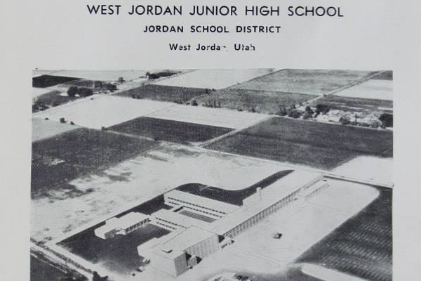 The ceremony was held May 1, 2017, exactly 58 years after the school's original dedication, held near the end of its first school year. (Tim Brooks/West Jordan Middle)