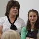 Bluffdale Elementary Principal Karen Egan describes Teacher of the Year Jennifer Romriell's contributions to the school community. (Tori La Rue/City Journals)