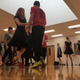 Herriman High School ballroom dancers practice for their final showcase of the 2016–17 school year. (Tori La Rue/City Journals)