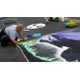 Chalkfest at Arbor Lakes in Maple Grove 2017. (Photo by Maple Grove Voice)