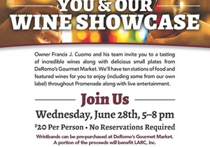DeRomos Summer Wine Showcase - start Jun 28 2017 0500PM