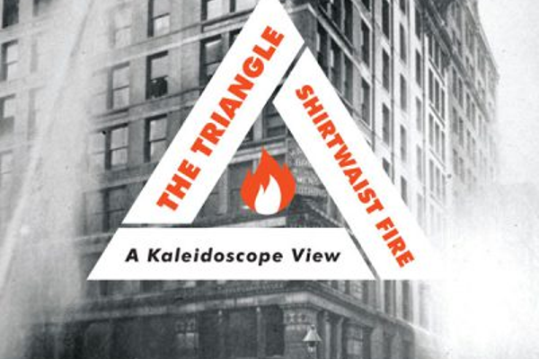 "Cover of Christine Seifert's latest book, ""Factory Girls: A Kaleidoscopic View of the Triangle Shirtwaist Factory Fire."" (courtesy Christine Seifert)"