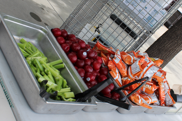 All meals include a main course, fruit, vegetable, and snack. (Granite School District).