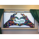 The mural was created by Draper Elementary students and is on display at Lone Peak Hospital. (Kelly Cannon/City Journals)