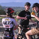 Juniors Kenedy Connelly, Ryan Winzenried and Josh Olson take a break from the trail. (Billy Swartzfager/City Journals)