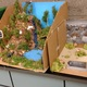 Students created dioramas of national parks. (Jet Burnham/City Journal)