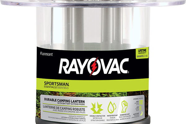 Rayovac Sportsman Lantern, $29.99 at American River Ace Hardware, 9500 Greenback Lane, Suite 10, Folsom. 916-988-5188, americanriverace.com