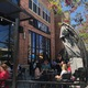 Wasatch Brew and Pub kept busy during the Sugar House Pub Crawl that attracted more than 2,000 people. (Natalie Mollinet\City Journals).