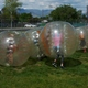 Bubble games were a big hit during the annual YMCA Healthy Kids Day. (Carl Fauver)