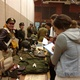 Students ask living historians and collectors about WWII. (Jet Burnham/City Journals)