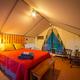 Glamping, $85-$120 per night at Inn Town Campground, 9 Kidder Court, Nevada City. 530-265-9900, inntowncampground.com